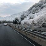 冬の高速道路は危険だらけです!