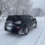 雪道を走ったら絶対やらないと車が壊れるんで